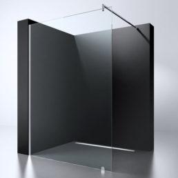 Best Design Erico 500 inloopdouchewand 47-49 cm - 8mm NANO glas
