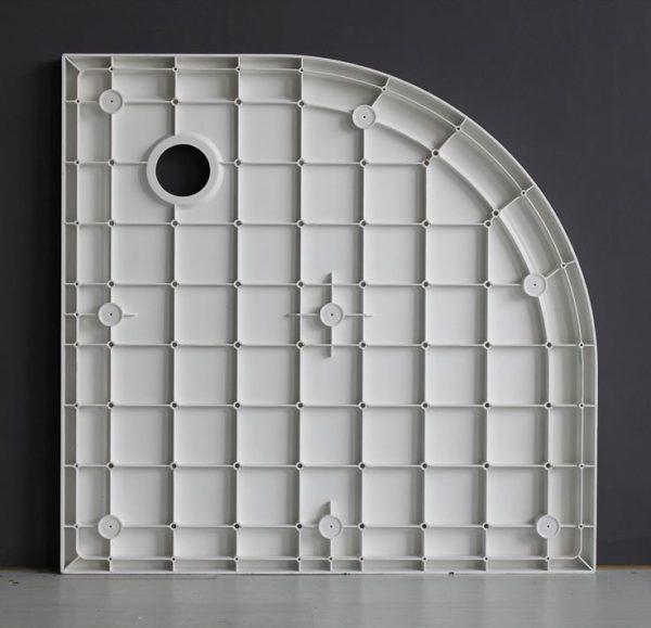 Best Design SMC-150 1/4 R douchebak 90 x 90 x 4 cm