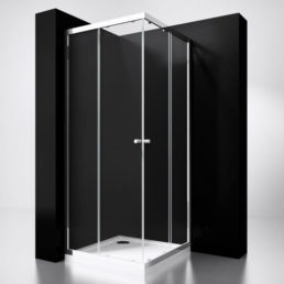 Best Design Project douche hoekinstap 100 x 100 cm glas 5 mm