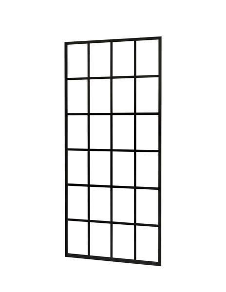 Best Design Black 1000 screen inloopdouche Walk-In 100 cm - 10mm NANO glas