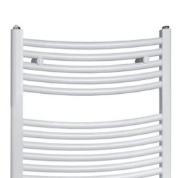 Best Design One radiator gebogen model 77x60 cm wit