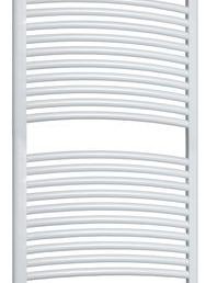 Best Design One radiator gebogen model 180x60 cm wit