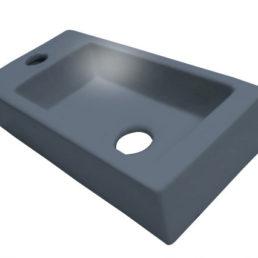 Best Design Mini-Block fontein antraciet-grijs Links 36 x 18 cm