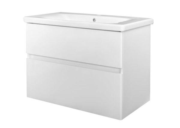 Quick-Greeploos meubel onderkast + wastafel 65cm wit