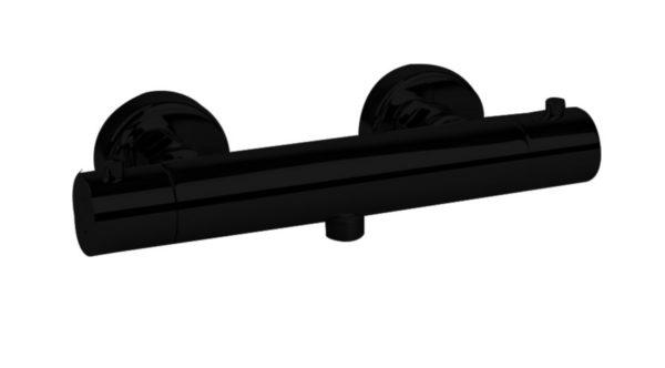 Zagaro opbouw douchethermostaat Nero mat-zwart