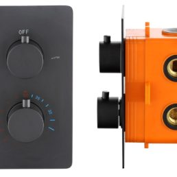 Best Design Lacora inbouwthermostaat ronde knoppen