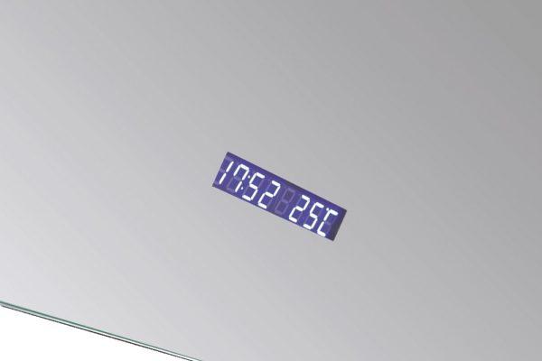 Best Design Spiegel Linet incl.klok & vergroting 120x70cm