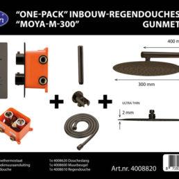 Best Design One-Pack inbouw-regendoucheset Moya-M-300