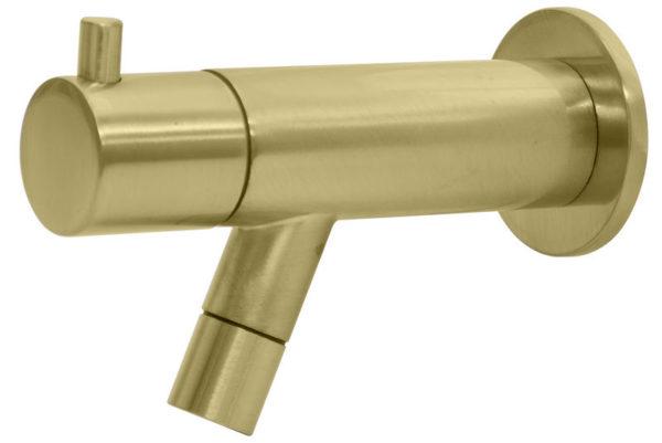 Best Design Spador-Nancy wand toiletkraan Mat-goud