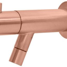 Best Design Spador-Lyon wand toiletkraan Rosé-mat-goud