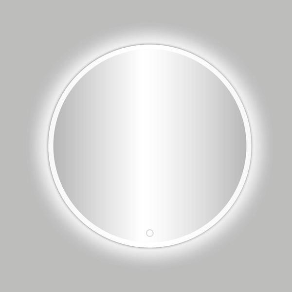 Best Design White Venetië ronde spiegel Mat-Wit incl.led verlichting 60 cm
