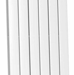 Millennium dubbele radiator 200 x 45 cm wit