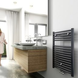 Elara radiator 76,6 x 60 cm antraciet