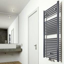 Elara radiator 118,5 x 60 cm antraciet