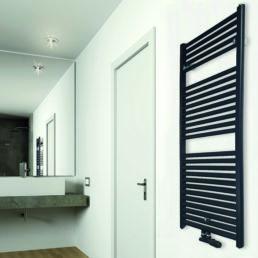 Wiesbaden Elara sierradiator 118,5x60 cm mat-zwart