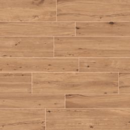 Padouk Nut 30x121 rett vloertegels / wandtegels