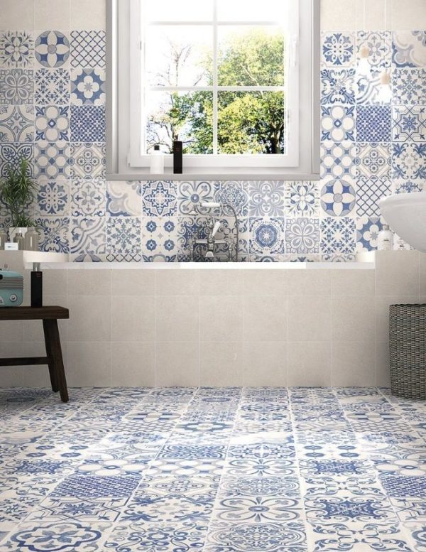 Skyros Blanco decor 44,2x44,2 vloertegels / wandtegels