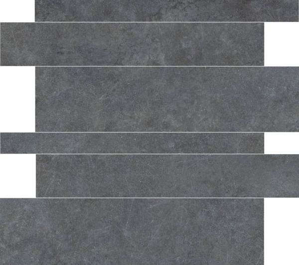 Tegelstroken Materia Antracite 5-10-15x60 rett wandtegels