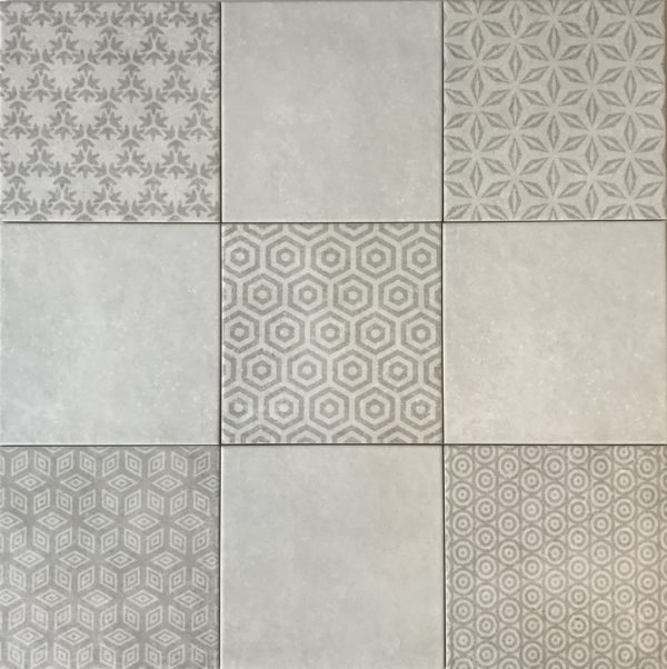 Kaza Decor Gris 20x20 wandtegels