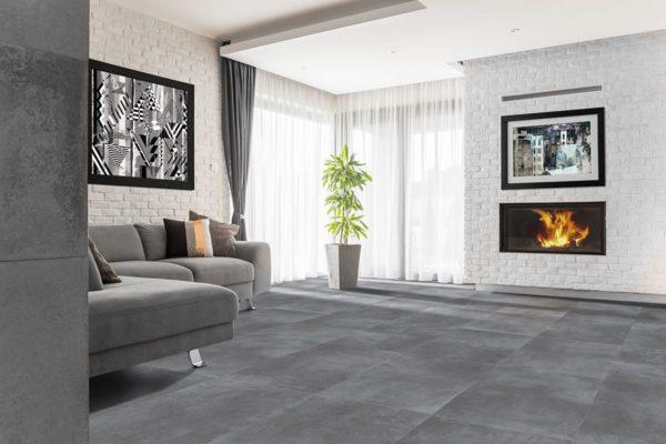 Loft Grey 61x61 rett vloertegels / wandtegels