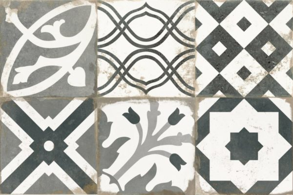 Antique Patchwork 33,3x33,3 vloertegels / wandtegels