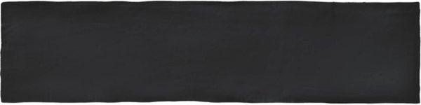 Colonial Black mat 7,5x30 wandtegels