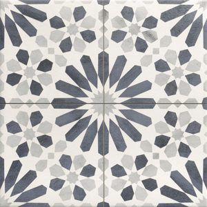 Marrakech Blue 44x44 vloertegels / wandtegels