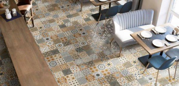 Marrakech Mix 44x44 vloertegels / wandtegels