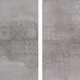 Concrete Grigio Decor 60x60 vloertegels / wandtegels