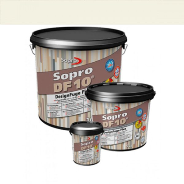 Voegmortel Sopro DF 10 Flexibel pergamon kleur 27 a 1kg