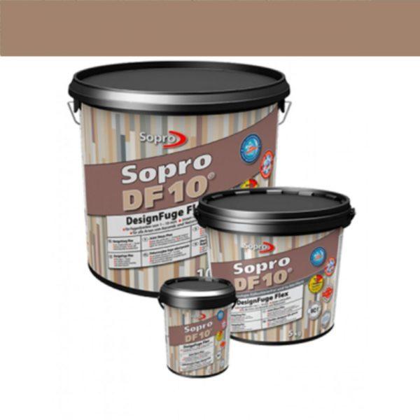 Voegmortel Sopro DF 10 Flexibel bruin kleur 52 a 5kg