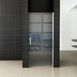Wiesbaden Eco nisdeur met profiel 100x195 cm