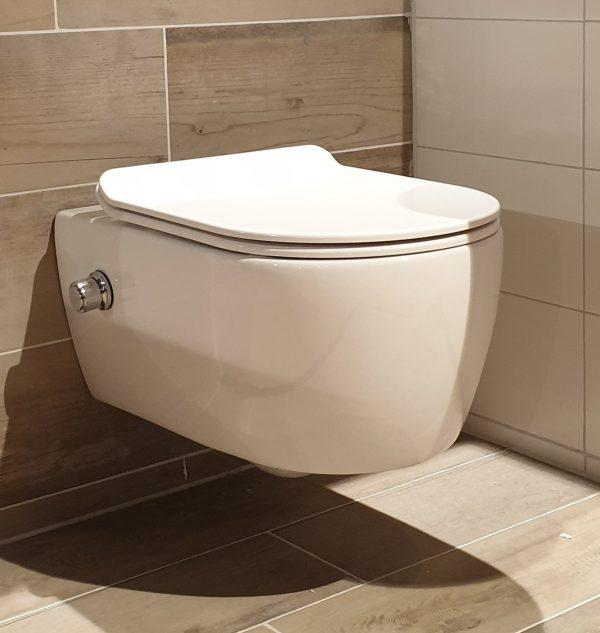 Wandcloset Easy Flush Slim met Bidet