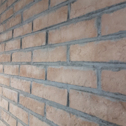 Baksteenstrip Appingedam - Beton