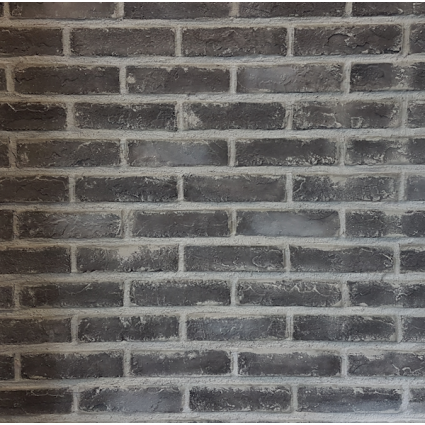 Baksteenstrip Hattem - Beton