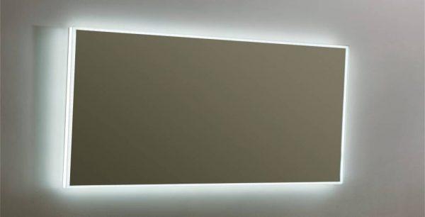 Aluminium spiegel LED Infinity 160