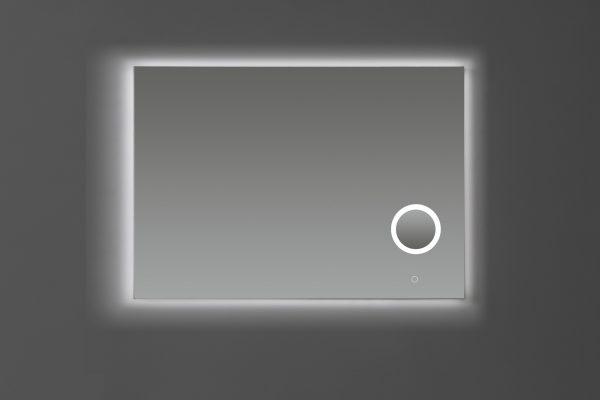 Spiegel LED verlichting met Make-Up Vergrootglas 3 Traps Dimbaar 100cm