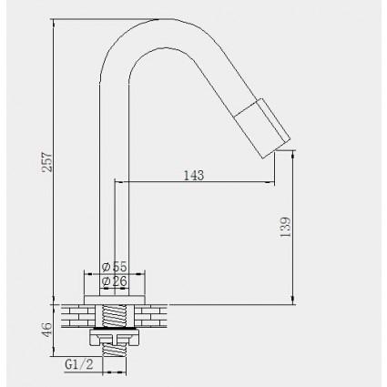 Opbouw Toiletkraan Type 7