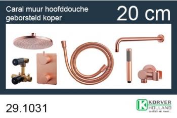 Wiesbaden one-pack inbouwthermostaatset rond type 502 GK (20cm)