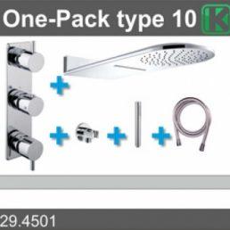 one-pack inbouwthermostaatset type 10 (25x60)