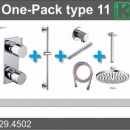 one-pack inbouwthermostaatset type 11 (20cm)