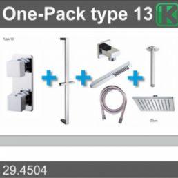 one-pack inbouwthermostaatset type 13 (20cm)