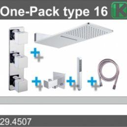 one-pack inbouwthermostaatset type 16 (24x55)