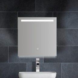 Aras dimbare LED condensvrije spiegel 600x600