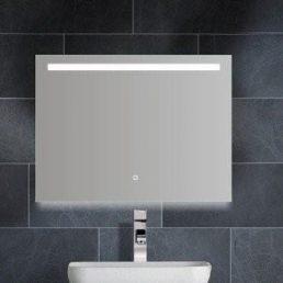 Aras dimbare LED condensvrije spiegel 800x600