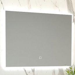 Kwil dimbare LED condensvrije spiegel 80x60