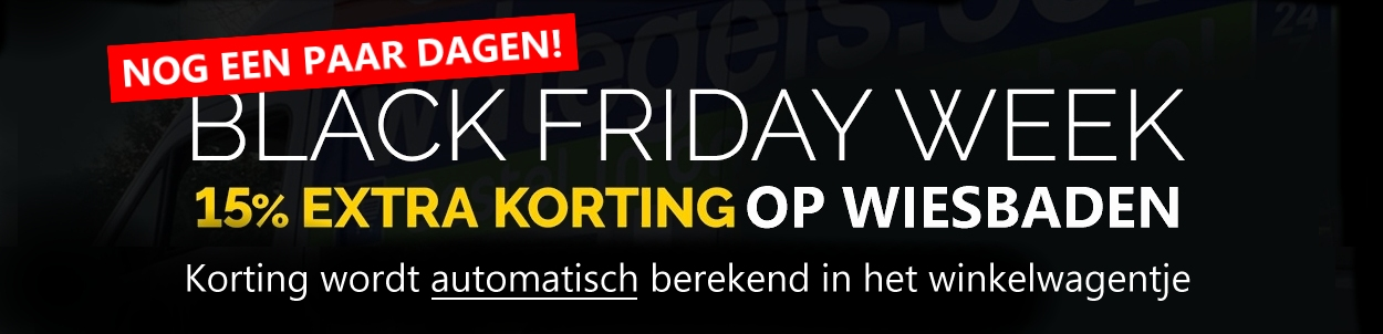 Black Friday WDTegels